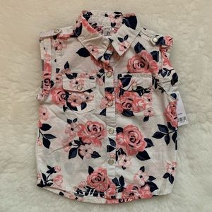 Carters floral tank